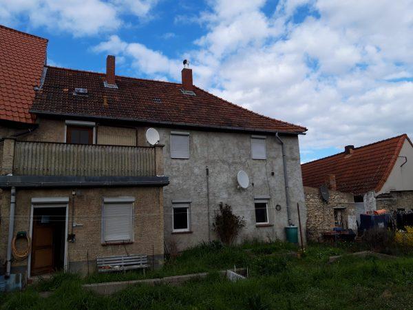 OBJEKT IST RESERVIERT Hedersleben (nähe Quedlinburg): kleines ländliches Anwesen zu verkaufen!
