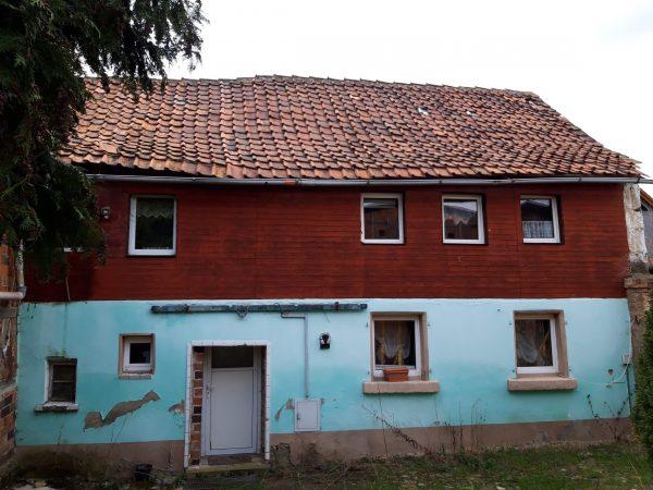 OBJEKT IST RESERVIERT Weddersleben bei Quedlinburg: alter Bauernhof aus Nachlass günstig zu verkaufen!