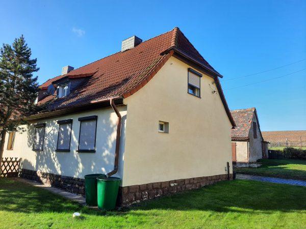Gerbstedt OT Heiligenthal: Haus mit Garten in sehr schöner Lage zu verkaufen!